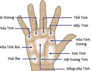 Nốt ruồi xuất hiện trên bàn tay